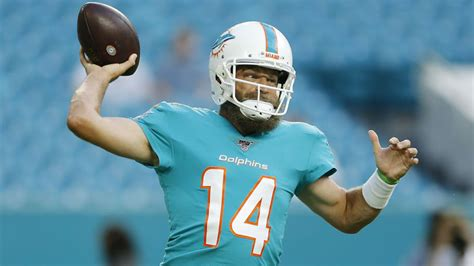 Ryan Fitzpatrick Starting Could Boost Dolphins Wide