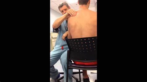 Cunningham technique Dislocated Shoulder - YouTube