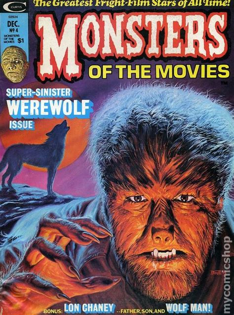 Monsters of the Movies (1974 Magazine) comic books