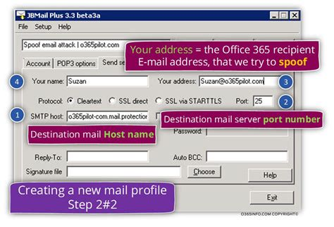 Simulate, E-mail Spoof Attack   How to Simulate E-mail