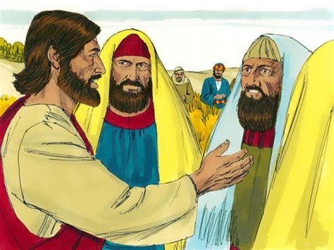 FreeBibleimages :: Jesus heals a man with a withered hand
