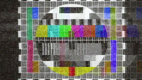 A Flickering, Analog TV Signal With Bad Interference