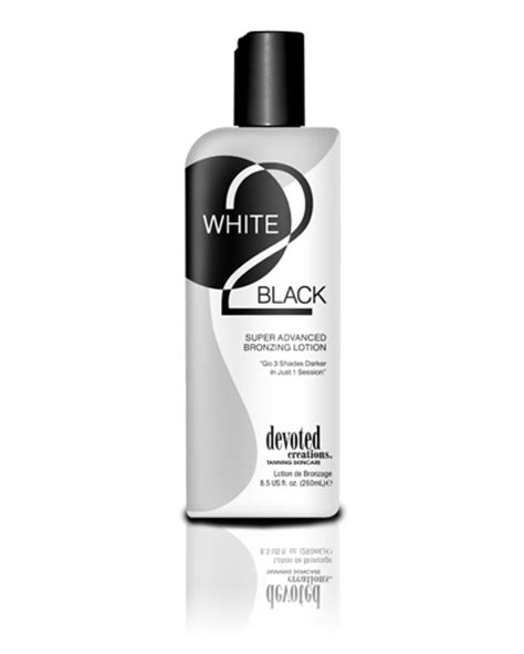 White 2 Black™ Tanning Lotion by Devoted Creations™: Soho