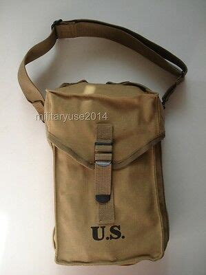 WW2 WWII US AMRY MILITARY GENERAL M1 PURPOSE AMMO BAG WITH
