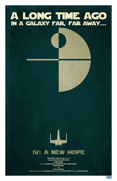Star Wars Posters: They Don't Get More Minimalistic Than