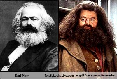Karl Marx Totally Looks Like Hagrid from Harry Potter