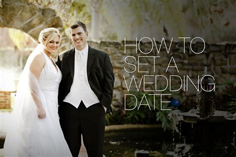 Our Tips On How to Set a Wedding Date | The Little Vegas