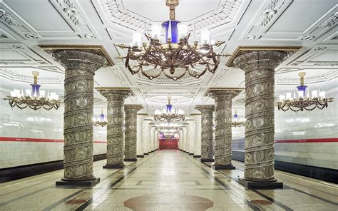 Metro Station Moscow Russia 4578 : Wallpapers13