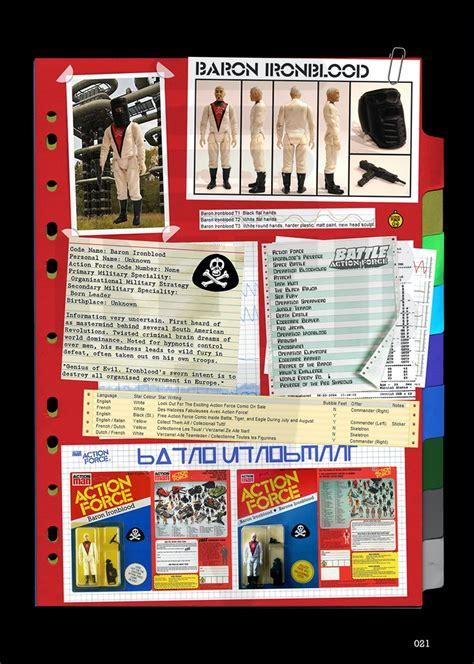 Action Force - Palitoy Collector's Guide by Baron