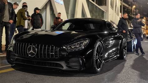 First Mercedes AMG GTR in Monaco on the Road! - YouTube