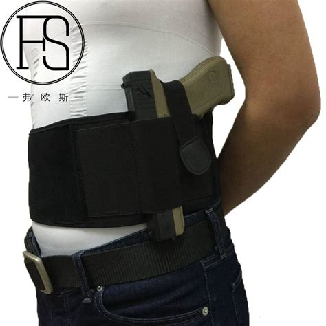 New Concealed Carry Belly Band Holster Gun Pistol Holsters