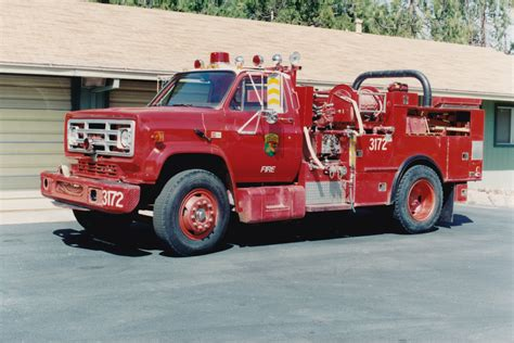 CA, Riverside County Fire Department Old Engine