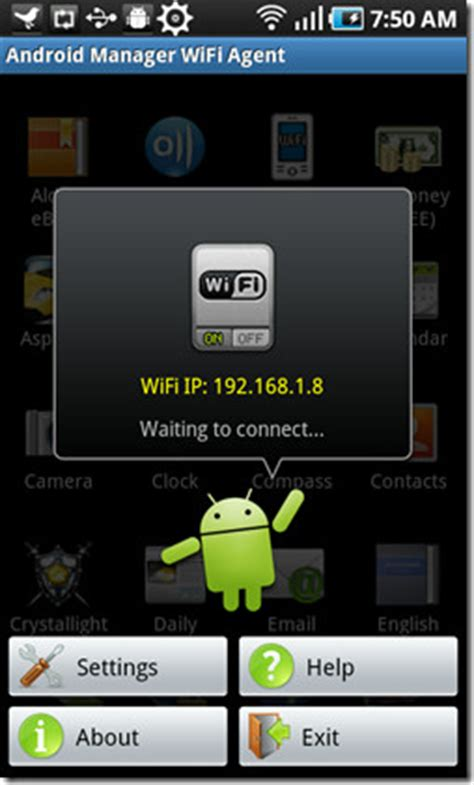 Android Manager WiFi Syncs And Transfer Files Wirelessly