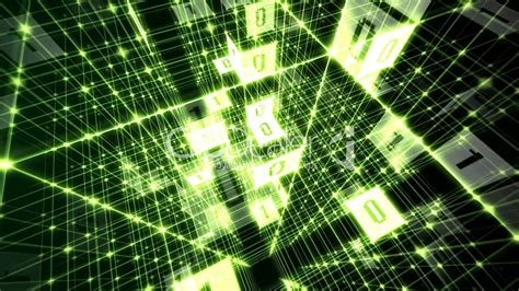 binary green background: Royalty-free video and stock footage