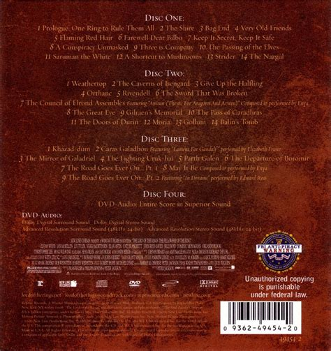 Film Music Site - The Lord of the Rings: The Fellowship of