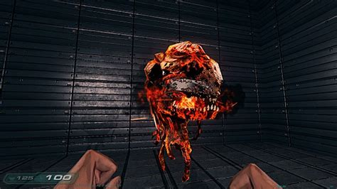 Cacodemon in Hell image - Perfected Doom 3 mod for Doom