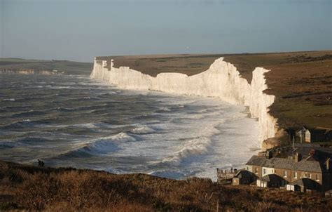 Chalk Cliffs Seven Sisters (The Wonder Of Nature) Sussex