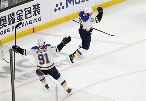 St Louis Blues Beat Boston Bruins to Win First-Ever