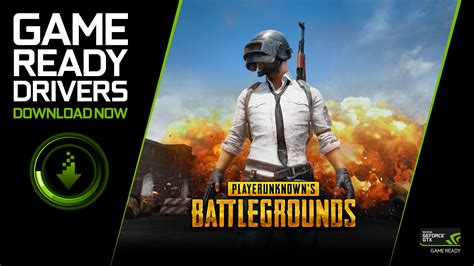 NVIDIA Releases PUBG Game Ready Driver - 2017's Last One