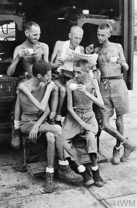 LIBERATED BRITISH PRISONERS OF WAR IN THE FAR EAST, 1945