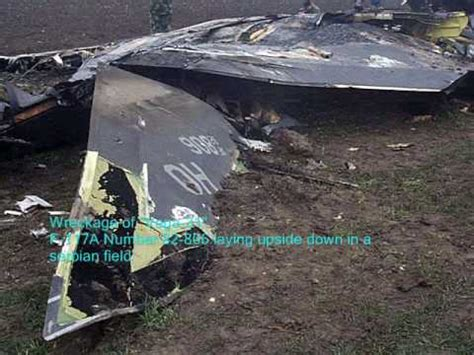 F-117 Shot down in pilots own words - YouTube