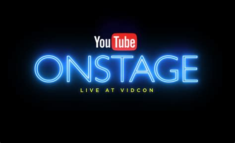 YouTube To Host Live Event On First Day Of VidCon With