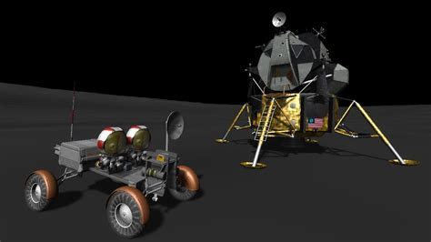 Kerbal Space Program - Apollo-J Moon Mission in RSS - YouTube