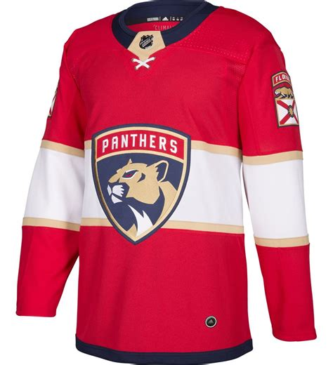 Florida Panthers Adidas Authentic Home NHL Hockey Jersey