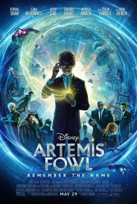 Disney's Artemis Fowl Adds Colin Farrell to the Cast As