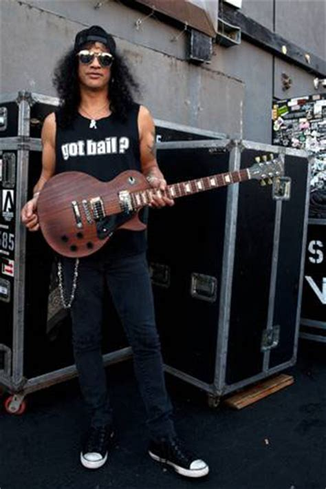 Gibson Definitely Not Washed Up, Slash on the other hand