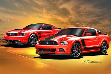 2013- 2014 Ford Mustang Fine art prints & posters by Danny