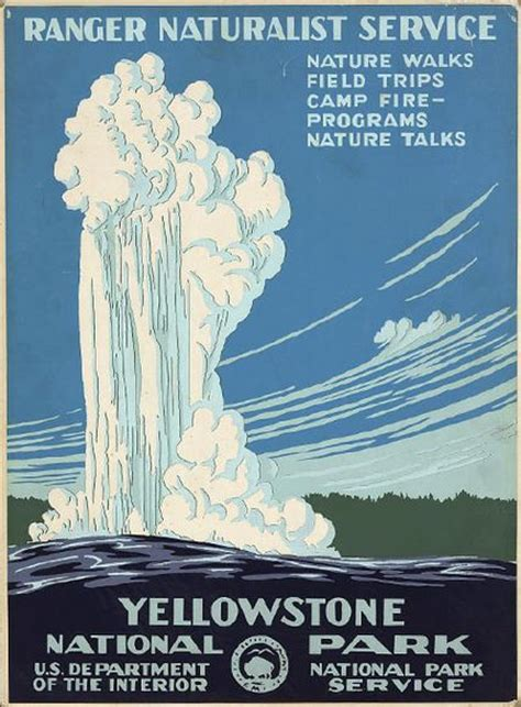 Vintage national park posters / Boing Boing